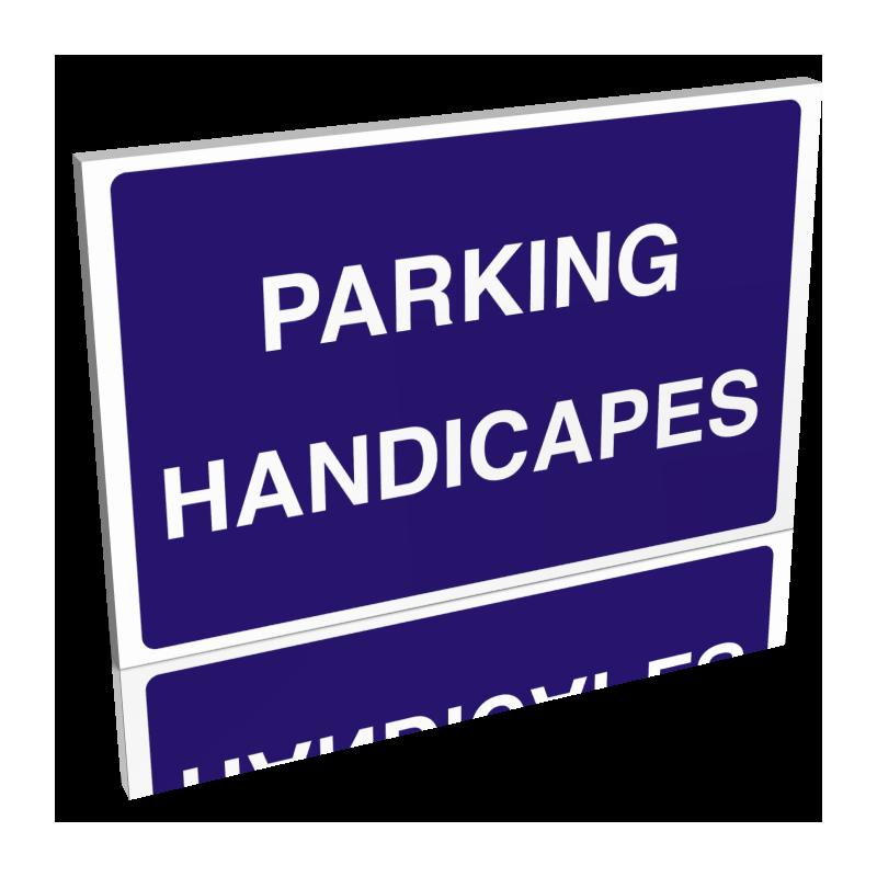 Parking handicapés