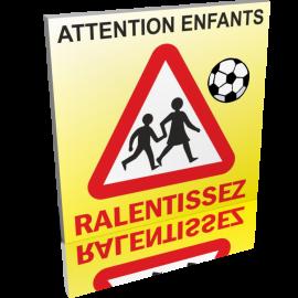 Attention aux enfants - Ralentissez 50cm