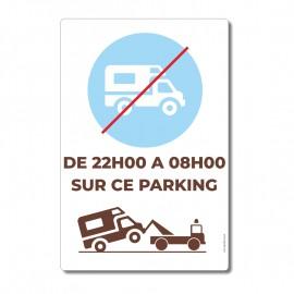 camping-cars interdits horaires - La-Girafe.com