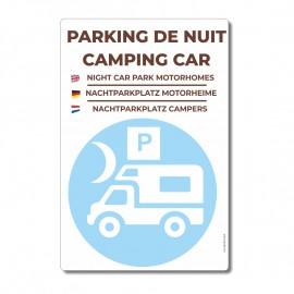 Parking de nuit camping-cars - La-Girafe.com