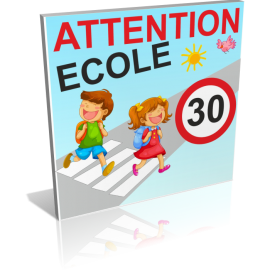 Attention école 30km/h