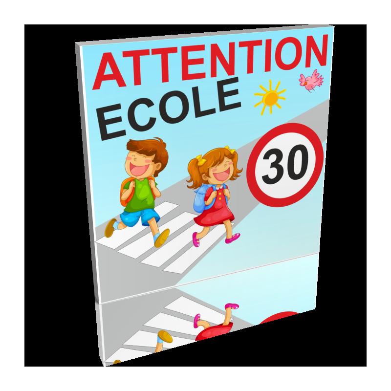 Attention école 30km/h