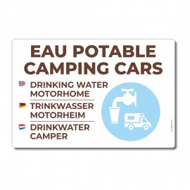 Eau potable camping-cars - La-Girafe.com