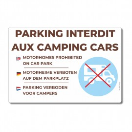 Parking interdit aux camping-cars - La-Girafe.com