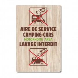 Aire de service camping-cars vertical - La-Girafe.com