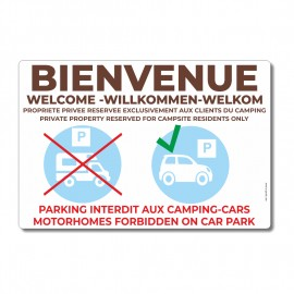 Bienvenue - parking interdit aux camping-cars - La-Girafe.com
