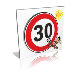 30 km/h personnage foot