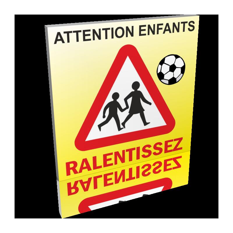 Attention aux enfants - Ralentissez
