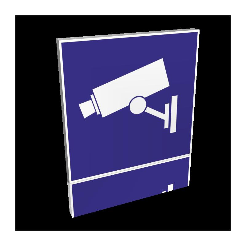 Surveillance Vidéo bleu