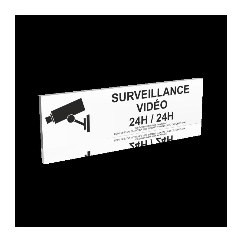 Surveillance vidéo 24H/24H - Noir