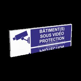 Bâtiment(s) sous vidéo protection - Bleu