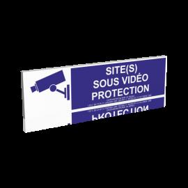 Site(s) sous vidéo protection - Bleu