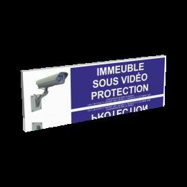 Immeuble sous vidéo protection