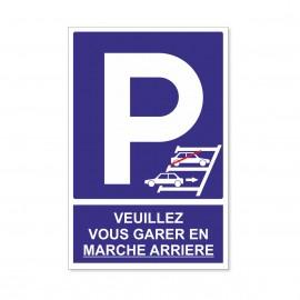 Veuillez vous garer en...
