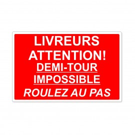 Livreurs attention demi...