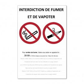 interdiction de fumer et de...