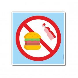 Il est interdit de manger...