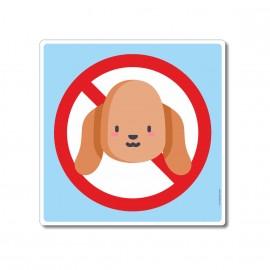 Les animaux sont interdits...