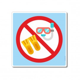 Palmes et masques interdits...