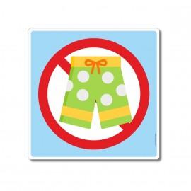 Short de bain interdit dans...