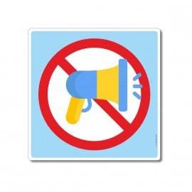 Il est interdit de crier...
