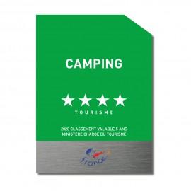Panneau classement camping