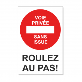 Voie Privée Sans issue -...