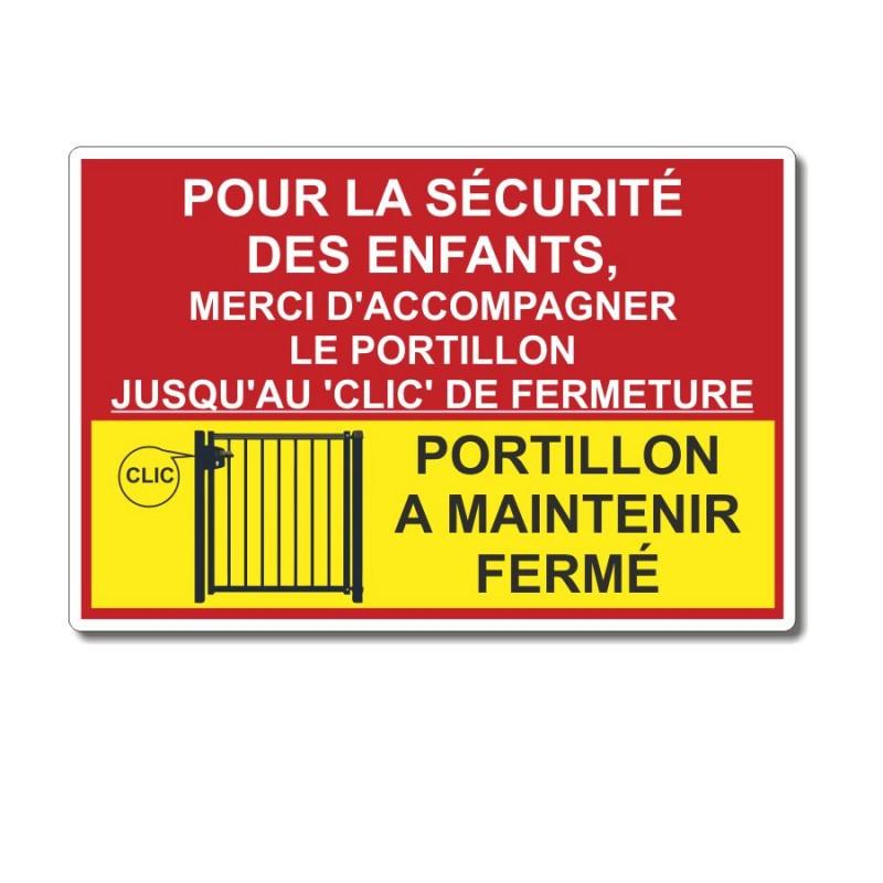 Sécurité portillon