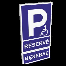 Parking réservé handicapé