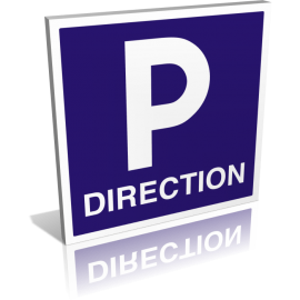 Parking direction carré