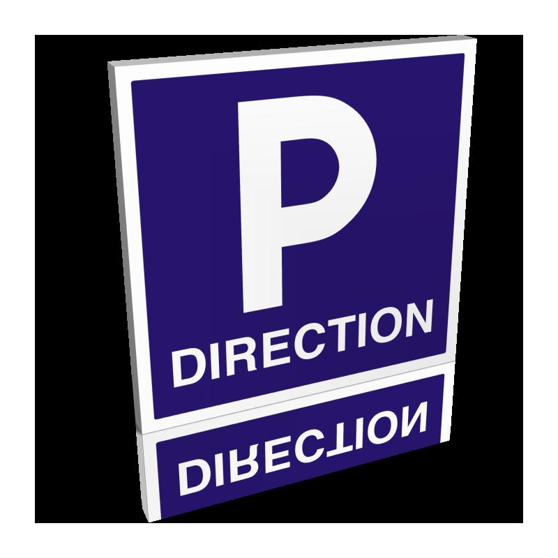Parking direction carré