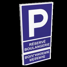 Parking réservé boulangerie