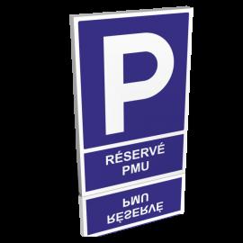 Parking réservé PMU
