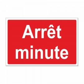 Arrêt minute