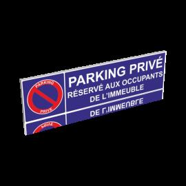 Parking privé - Réservé aux occupants de l'immeuble