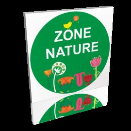 Zone nature fleurs