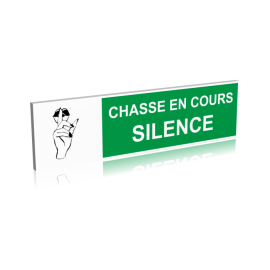 Chasse en cours - Silence