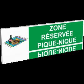 Zone réservée - Pique-Nique