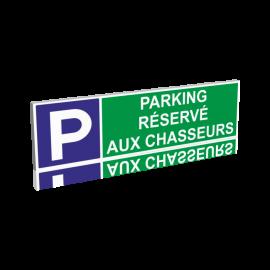 Parking réservé aux chasseurs