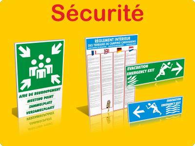 Sécurité / Règlements