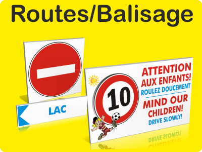 Routes / Balisage