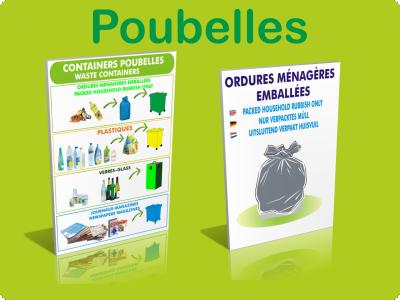 Recyclage / Poubelles