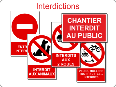 Interdictions