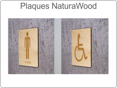 Plaques NaturaWood